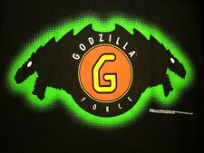 GODZILLA FORCE Toho sweatshirt XL circa 1998 Gojira King of Monsters kaiju