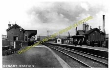 Dysart Railway Station Photo. Thornton Junction - Sinclairtown. (2)