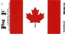 Canada Flag - Vinyl Decal Sticker 3.5''x 5''