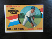 1960 Topps # 128 Bill Harris Card (B57) Los Angeles Dodgers