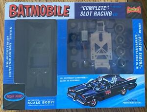 "BATMOBILE ""COMPLETE"" SLOT RACING 1/32 SCALE POLAR LIGHTS 2012 NEW IN BOX ~"