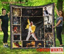 Freddie Mercury Quilt Blanket Gift Fan Queen Band
