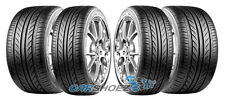 4 NEW 245 35 20 95W & 275 30 20 97W DELINTE THUNDER D7 (STAGGERED TIRES)