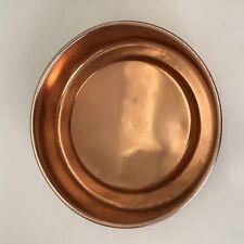 New listing Vintage Raco Kitchenware Orange Aluminium Round Cake Baking Tin 21cm