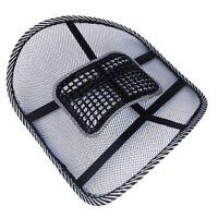 Car Office Seat Chair Massage Back Lumbar Support Mesh Ventilate Cushion Pad N3