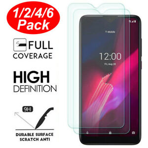 For T-Mobile REVVL 4 Plus/REVVL 5G/REVVL 4 Clear Tempered Glass Screen Protector