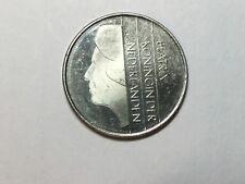 NETHERLANDS  1982 1 Gulden coin uncirculated