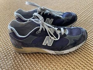 Vintage New Balance 991 M991NV Made In USA Navy Blue Suede Men's Size 10