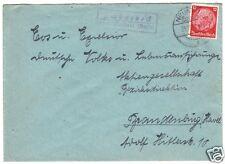 Landpoststempel, Poststelle II, Schönebeck über Neustadt (Dosse), 29.11.39