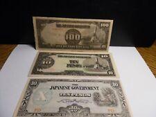 New listing Japan Occupation Banknotes - 3 pcs.