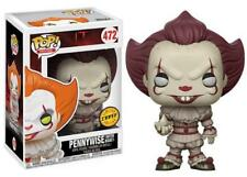 Pennywise with Boat Chase Version IT Clown ES POP! Movies #472 Vinyl Figur Funko