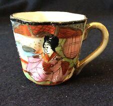 Japon tasse porcelaine Suzuki Company décor polychrome c 1950 Japan Asie Asia