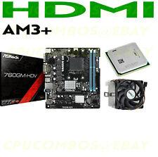 COMBO AMD Athlon II X2 255 DUAL CORE CPU+ASROCK 760GM-HDV DDR3 AM3+ Motherboard