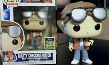 BTTF - Marty Checking Watch Funko Pop! + Protector **SDCC 2020 PRE-ORDER**