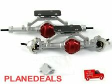 Front and rear K44 Axle for 1/10 Rc Crawler SILVER