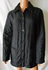 GIANFRANCO FERRE'  CAPPOTTO Firmato Coat PARKA TG.44 foderato Imbottito nero