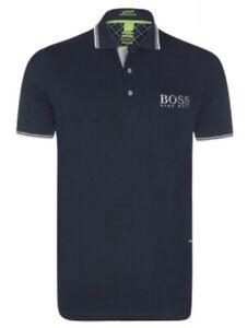 Hugo Boss Polo Classic Fit Casual Uomo in Cotone Logo Ricamato Prezzo Affare