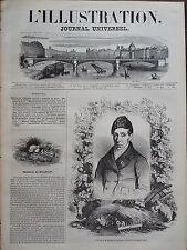 L' ILLUSTRATION 1844 N 46 CHRISTOPHE-JOSEPH -ALEXANDRE MATHIEU DE DOMBASLE
