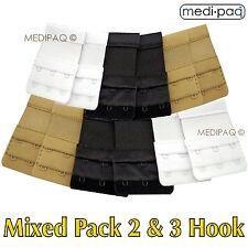 MEDIPAQ™ Bra Strap Extenders x12 -Temporary Weight Gain Pregnancy Tight Fitting