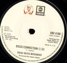 """ISAAC HAYES MOVEMENT disco connection/st thomas square ABC 4100 1976 7"""" WS EX/"""