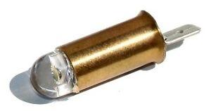 Porsche LED Instrument Light Bulb 6V (Single Filament) 356/356A/356B/356C, 50-65