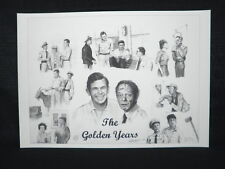 Andy Griffith & Don Knotts The Golden Years Mayberry North Carolina Lithograph