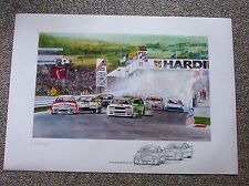 BATHURST 1000 THE GREAT RACE MOFFAT BROCK V8 SUPERCARS HDT