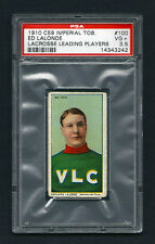 PSA 3.5 1910 C59 LaCROSSE CARD #100 EDOUARD NEWSY LaLONDE