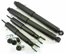 4 NEW Shocks Struts FULL Set, 00-10 Chevy GMC Truck #40035 Ltd Lifetime Warranty