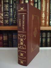SALEM WITCH TRIALS Cotton Mather Gryphon Notable Trials Leather