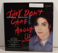 """MICHAEL JACKSON """"They Don't Care About Us"""" 12"""" Double Pak '96 orig New Sealed"""