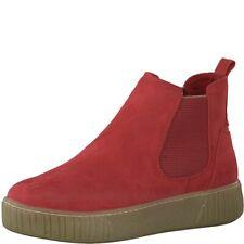 Marco Tozzi Damen 25454 Slip On Sneaker Schlupfstiefelette Plateusohle Red Comb