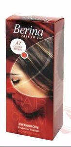 Berina Hair Color Cream A7 (Golden Brown) FS