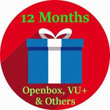 12 Months Full Warranty Gift For Openbox V8s F5 F3 Zgemma Skybox Vu Skybox