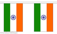 India 3 Metre Bunting 10 Flags Flag 3m Indian Bombay Delhi
