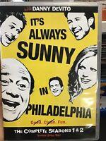 Its Always Sunny in Philadelphia - Seasons 1  2 (DVD, 2009, 3-Disc Set)