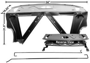 1966 1967 Chevy II Nova Rear Seat Divider Package Speaker Tray - Dynacorn