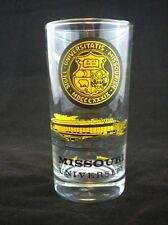 1971 Mizzou Missouri University Tigers MSU Homecoming Football Schedule Glass