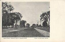 Rare Undivided Back Postcard, Massachusetts, Agawam, Main Street