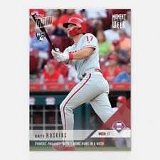 2018 TOPPS NOW #MOW-17 RHYS HOSKINS POWERS PHILLIES WITH 7 HOME RUNS IN A WEEK
