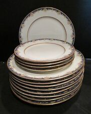 Antique Limoges France T & V 12 Pieces 9 Dinner and 4 Lunch Plates