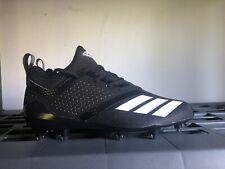 Adidas adiZERO 5-Star 7.0 Black/White Low Football Cleats [B27975] Men's Sz 12.5