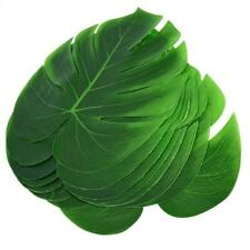 Monstera Leaf Washable Table Cutlery Mat Fake Flower 12Pcs for Table Kitchen