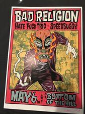 Bad Religion: Hate F*ck Trio: Speedbuggy: AP: Alan Forbes Signed Numbered