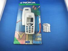 Original Nokia 3310 3330 skr-24 Himalaya White White Cover Keyboard Battery Cover