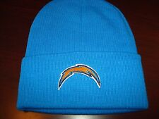 SAN DIEGO CHARGERS NFL EMBROIDERED TOBOGGAN KNIT VINT BEANIE SKULL HAT CAP