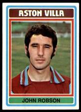Topps Football Blue/Grey 1976 (B1) John Robson Aston Villa No. 61