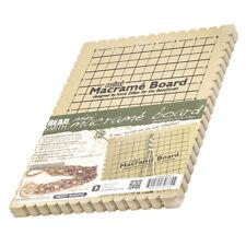 "Beadsmith Mini Macrame Board With Instructions 6""x9"""