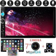 7'' 2Din Touch Screen Bluetooth Autoradio FM AUX USB SD MP5 Player +Fotocamera