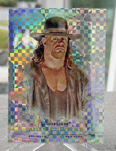 2008 Allen & Ginter WWE Undertaker Xfractor Trading Card